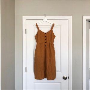 Mustard Yellow Universal Threads Dress.